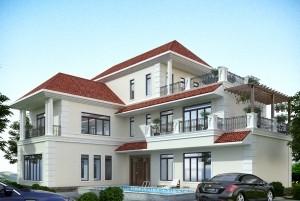 Mẫu nhà ở 3 tầng hiện đại tuyệt đẹp, hoàn hảo