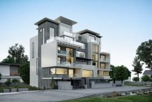 Mẫu thiết kế nhà ở hiện đại 5 tầng tại Bắc Ninh