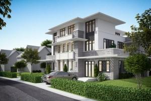 Mẫu thiết kế nhà ở 3 tầng tại Quảng Ninh