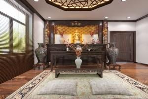 Mẫu biệt thự hiện đại 2 tầng mái thái tại Nha Trang