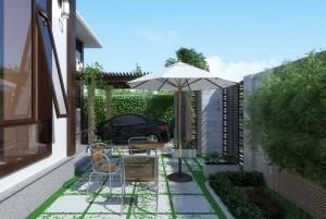 Mẫu biệt thự vườn 1 tầng tại Quảng Ninh