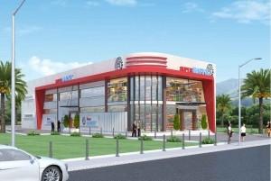 Mẫu thiết kế siêu thị đẹp, hiện đại tại TP Tuyên Quang