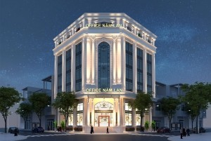 Thiết kế toà nhà văn phòng 7 tầng tại Thạch Thất - Hà Nội