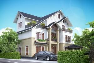 Thiết kế nhà ở hiện đại 3 tầng tại Hà Giang