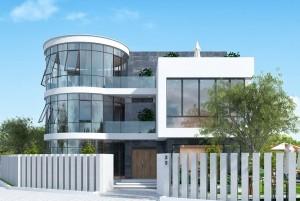 Mẫu thiết kế nhà ở 2 tầng tại Hà Nam