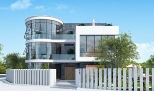 Mẫu thiết kế biệt thự 2 tầng tại Hà Nam