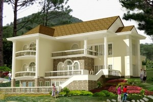 Mẫu nhà nhà ở cổ điển 2 tầng đẹp và đẳng cấp