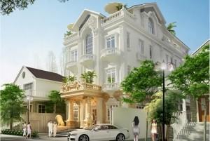 Mẫu nhà ở cổ điển 3 tầng đẹp, sang trọng tại TP Hội An