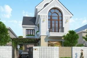 Mẫu biệt thự 2 tầng hiện đại đẹp tại Bắc Ninh