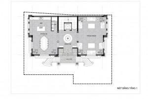 Thiết kế nhà ở sân vườn gia đình anh Mạnh ở Quảng Ninh