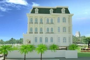 Mẫu nhà ở cổ điển đẹp, đẳng cấp tại TP Hà Nội