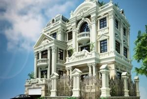 Mẫu thiết kế nhà ở 3 tầng cổ điển Hải Phòng