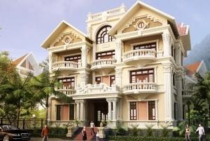 Mẫu thiết kế mẫu nhà ở tân cổ điển đẹp