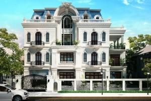 Mẫu thiết kế nhà ở cổ điển 3 tầng tại Bắc Ninh