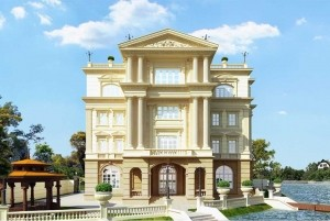 Mẫu lâu đài cổ điển Vincom tại TP Hà Nội