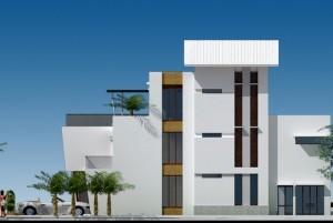 Mẫu thiết kế nhà ở song lập đẹp, lạ mắt