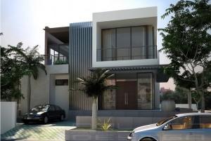 Thiết kế nhà nhà ở 2 tầng đẹp, độc đáo hấp dẫn mọi ánh nhìn