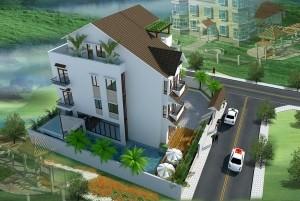 Mẫu thiết kế nhà ở hiện đại 3 tầng tại TP Sơn La