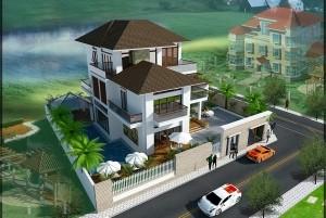 Mẫu nhà ở 3 tầng hiện đại ở TP Hải Phòng