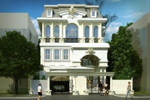 Mẫu dinh thự 3 tầng cổ điển sang trọng nhất TP Hà Nội