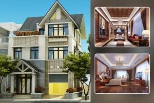 Mẫu thiết kế nhà nhà ở 3 tầng hiện đại TP Hà Nội