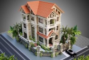 Mẫu thiết kế dinh thự cổ điển đẳng cấp