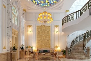 Thiết kế nhà ở nghỉ dưỡng kiểu Pháp 3 tầng tại TP Hội An