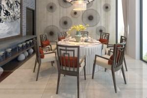 Mẫu thiết kế nhà hàng đẹp - nhà hàng ăn uống Hồng Đàm