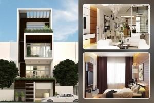 Mẫu nhà phố 4 tầng hiện đại, sang trọng tại TP. Hạ Long