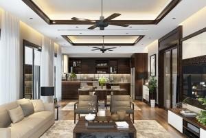 Thiết kế nội thất chung cư đẹp hiện đại