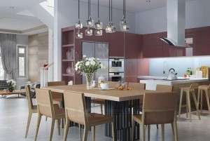 Thiết kế nội thất chung cư cao cấp Penthouse Golden Palace