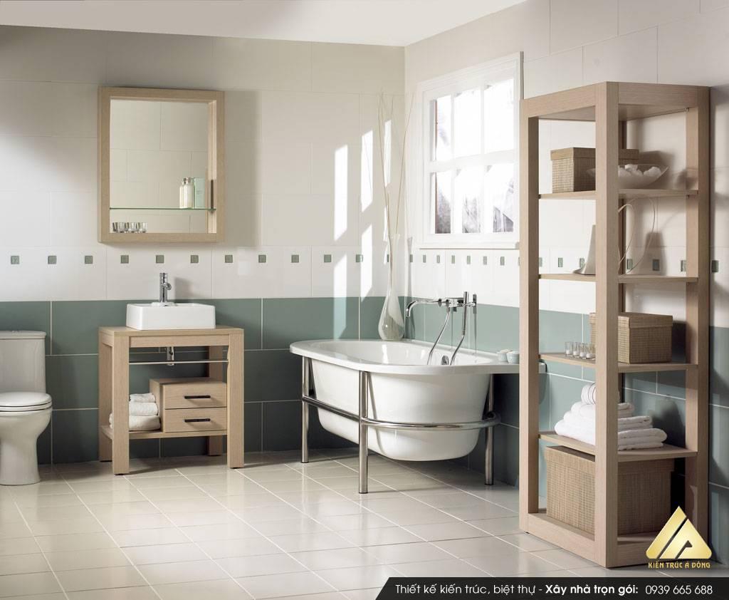 Thiết kế nhà tắm hợp phong thuỷ