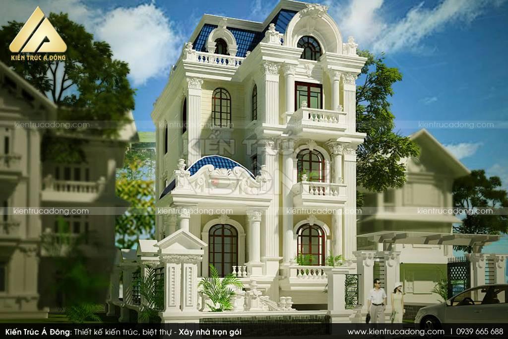 Hỏi thiết kế Dinh thự trọn gói?