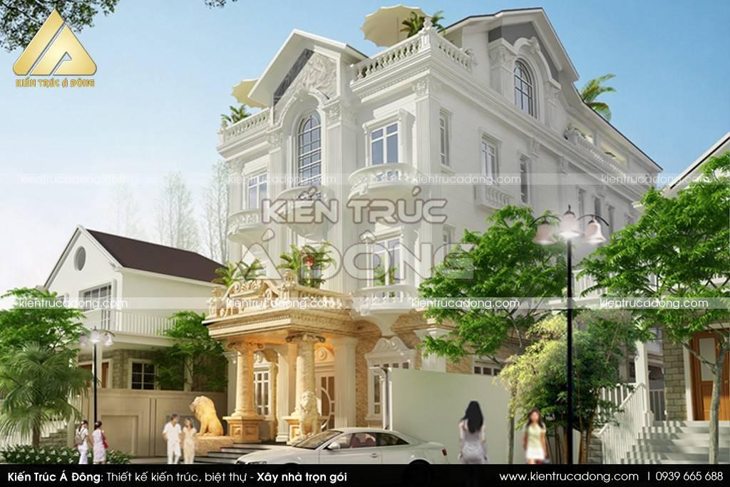 Mẫu thiết kế biệt thự 3 tầng hiện đại đẹp ưa chuộng nhất năm 2021