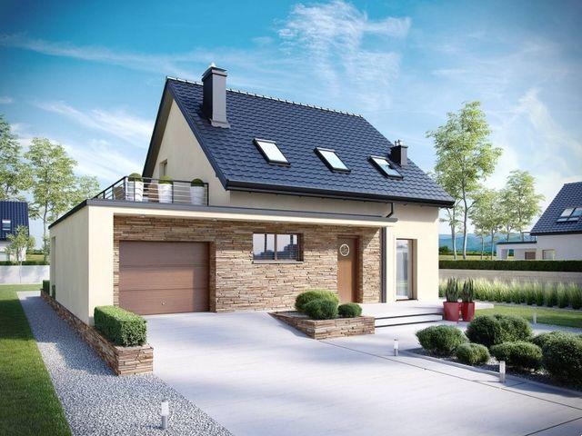 Thiết kế mẫu nhà cấp 4 mái thái 3 phòng ngủ đẹp 2021