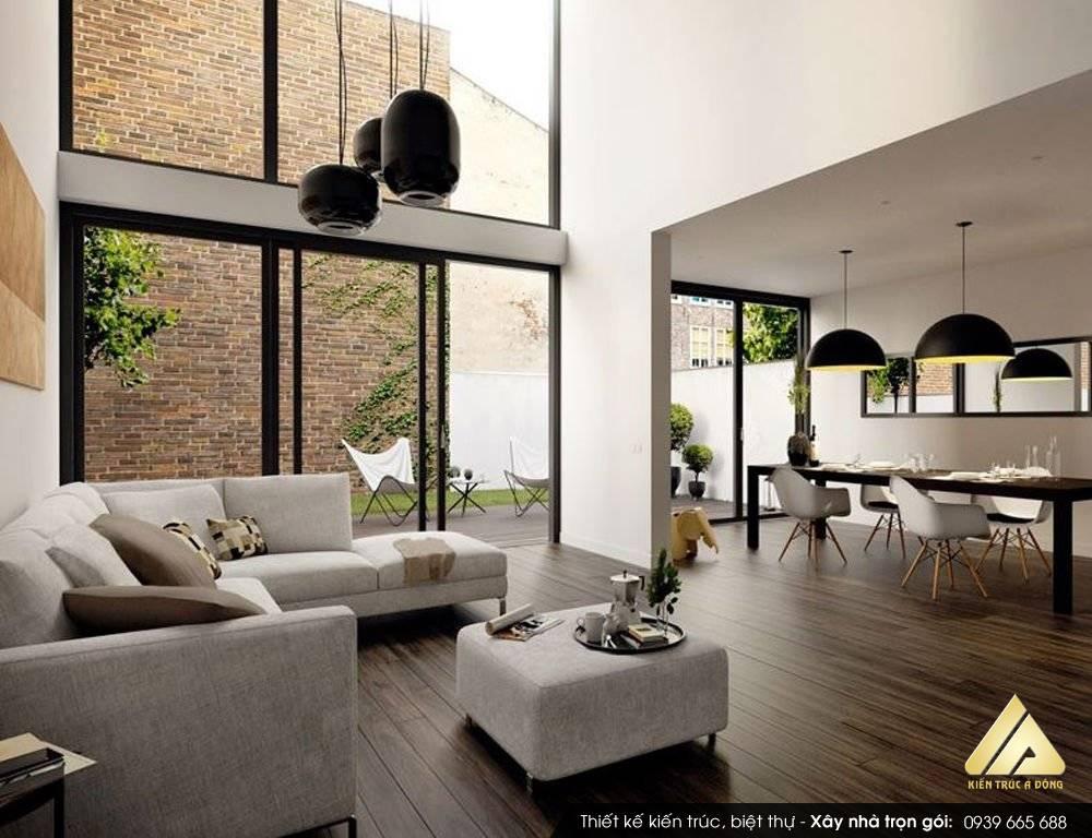 Tổng hợp những thiết kế nội thất nhà phố hiện đại 2021