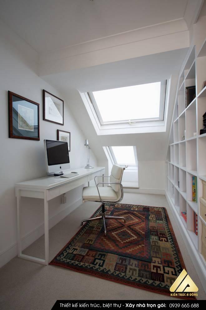 Thiết kế phòng đọc sách gia đình đẹp, độc đáo trong 2021
