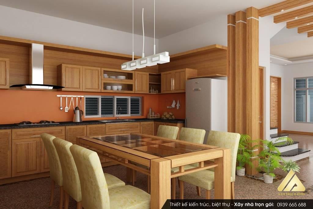 Phòng bếp hợp phong thủy cho tuổi 1974 Giáp Dần