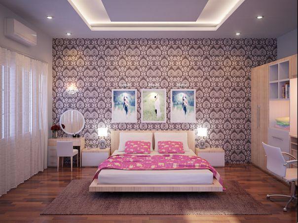 Phòng ngủ hợp phong thủy cho tuổi 1984 Giáp Tý