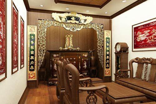 Phòng thờ hợp phong thủy cho tuổi 1957 Đinh Dậu
