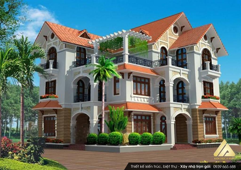 Biệt thự 3 tầng ở Quảng Ninh
