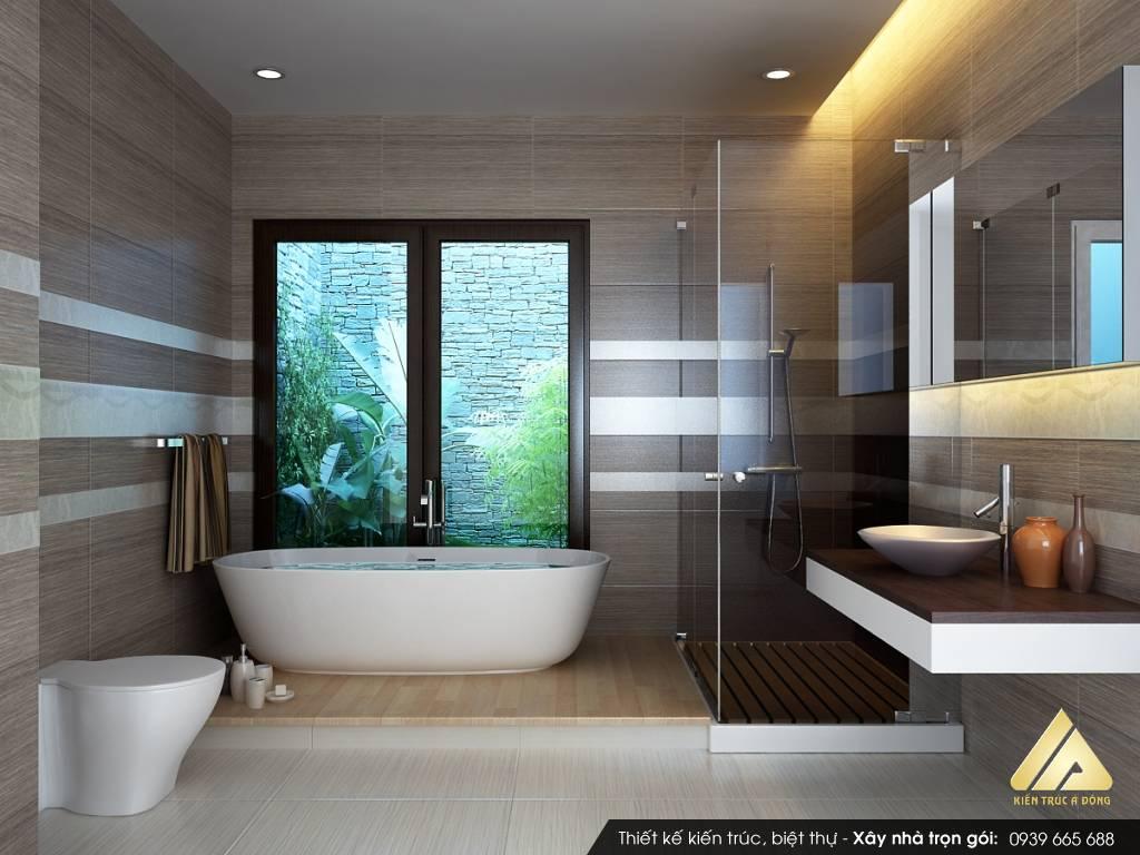 Nguyên tắc khi thiết kế nhà vệ sinh