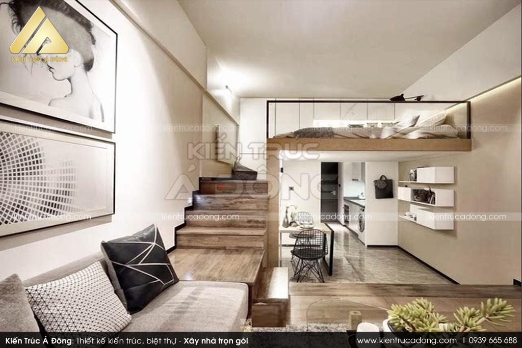 Thiết kế toà nhà văn phòng kết hợp căn hộ cho thuê Apartment