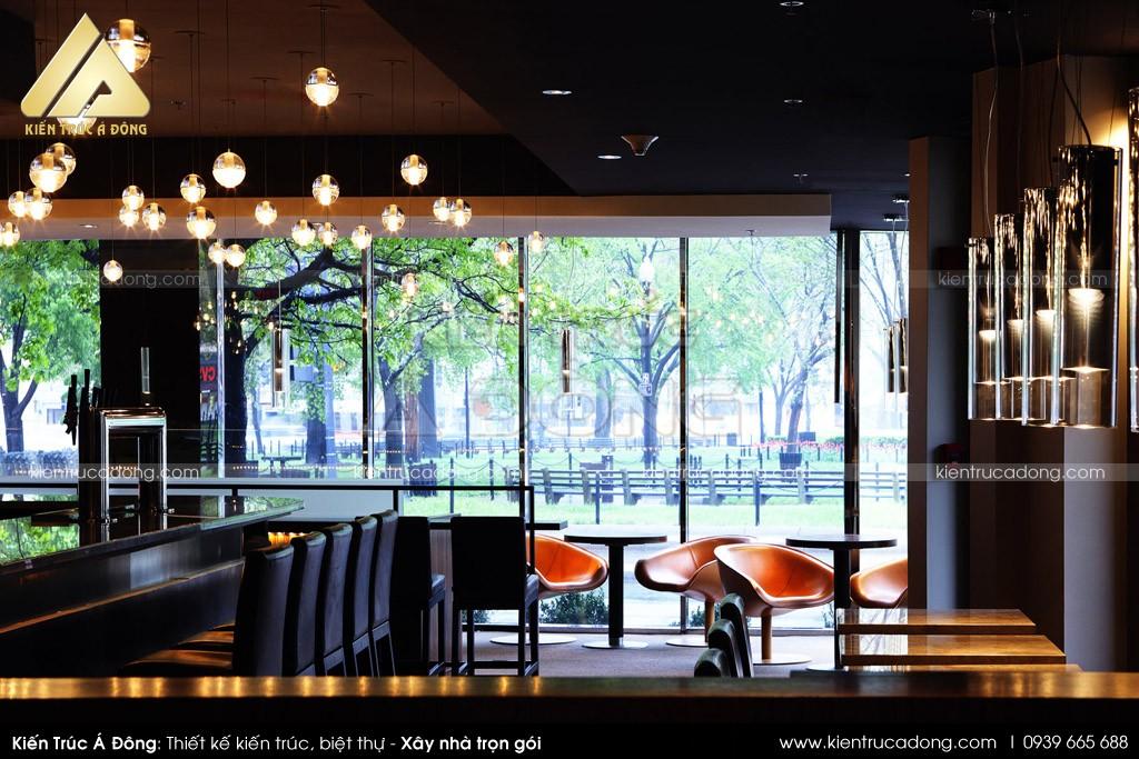 Mẫu thiết kế quán cafe vườn độc đáo, quán Cafe Garden