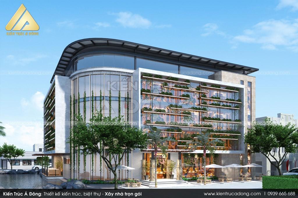 Mẫu thiết kế nhà hàng tại Ba Vì - Hà Nội