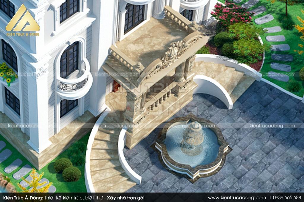 Siêu biệt thự 3 tầng cổ điển tại Long An
