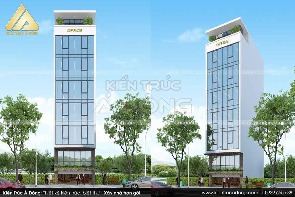 Thiết kế toà nhà văn phòng 7 tầng tại Hà Nội