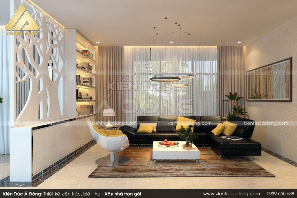 Mẫu dinh thự nghỉ dưỡng hiện đại tuyệt đẹp
