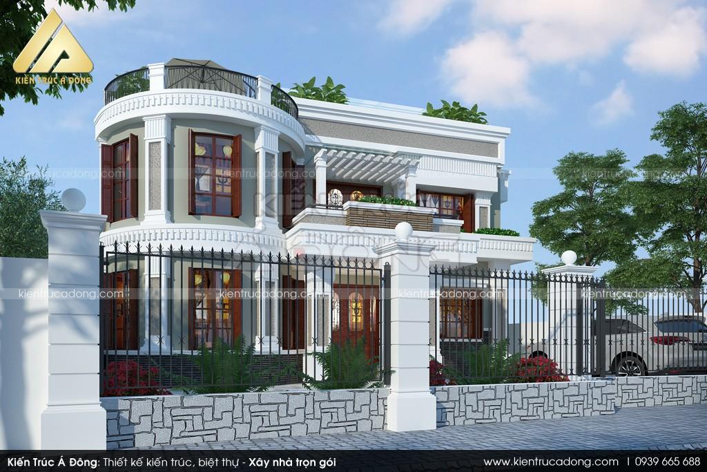 Sơn nhà biệt thự 2 tầng tại Hà Nội - SƠN NHÀ GIA TRUYỀN