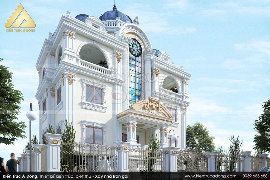 Thiết kế biệt thự sân vườn gia đình anh Mạnh ở Quảng Ninh